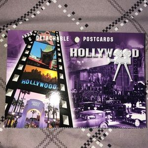 🔹2 FOR $10🔸6 Detachable Postcards of Hollywood